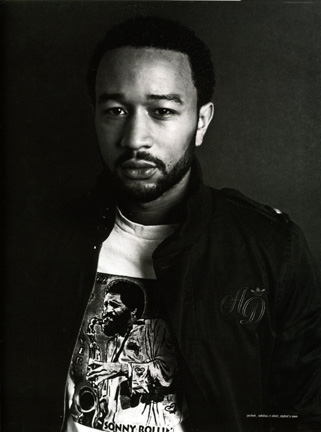 John Legend / Trace magazine / grooming by Reneé Majour/ Photographer Mike Schreiber